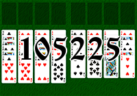 Solitaire №105225