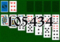 Solitaire №105434