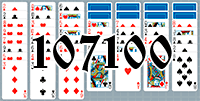 Solitaire №107100
