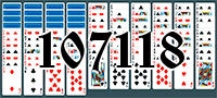 Solitaire №107118
