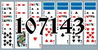Solitaire №107143
