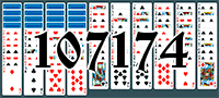 Solitaire №107174