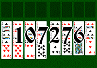 Solitaire №107276