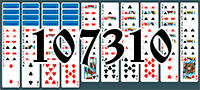 Solitaire №107310