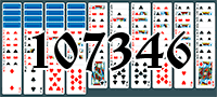 Solitaire №107346