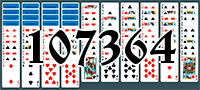 Solitaire №107364