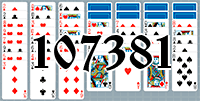 Solitaire №107381