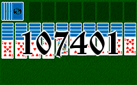 Solitaire №107401