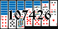 Solitaire №107426