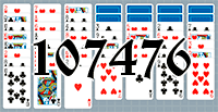 Solitaire №107476