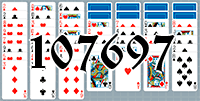 Solitaire №107697