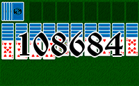 Solitaire №108684