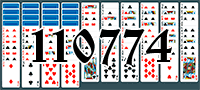Solitaire №110774