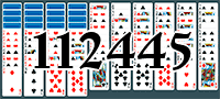 Solitaire №112445