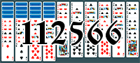 Solitaire №112566