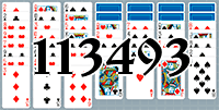 Solitaire №113493