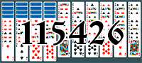Solitaire №115426