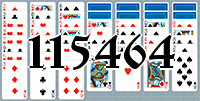 Solitaire №115464
