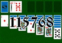 Solitaire №115768