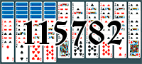 Solitaire №115782