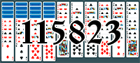 Solitaire №115823