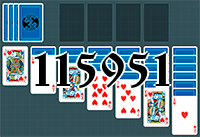 Solitaire №115951