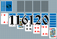 Solitaire №116120