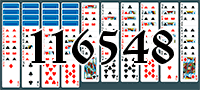 Solitaire №116548