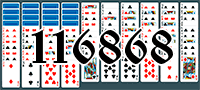 Solitaire №116868