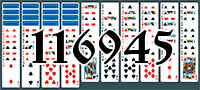 Solitaire №116945