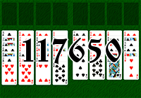 Solitaire №117650