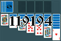 Solitaire №119194