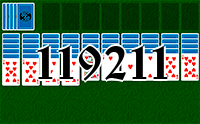 Solitaire №119211