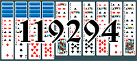 Solitaire №119294
