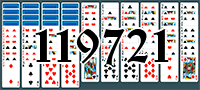 Solitaire №119721