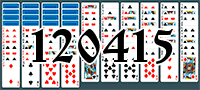 Solitaire №120415
