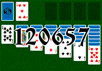 Solitaire №120657