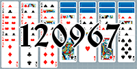 Solitaire №120967
