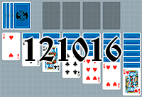 Solitaire №121016