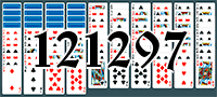 Solitaire №121297