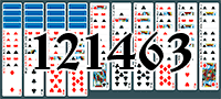 Solitaire №121463
