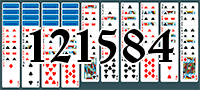 Solitaire №121584