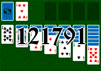 Solitaire №121791
