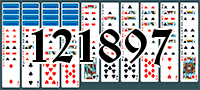 Solitaire №121897