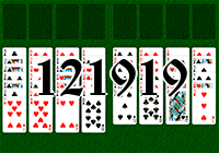 Solitaire №121919