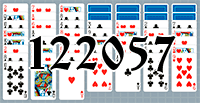 Solitaire №122057