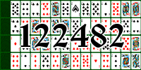 Solitaire №122482