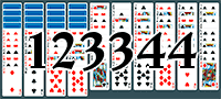 Solitaire №123344