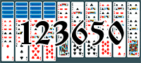 Solitaire №123650