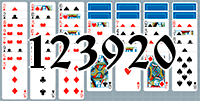 Solitaire №123920